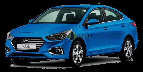 долгосрочная аренда Hyundai Solaris 2017